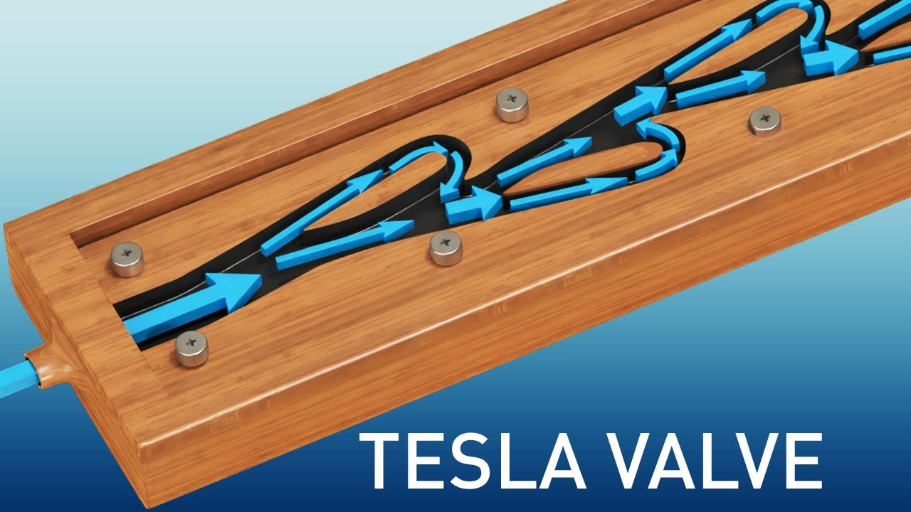Tesla Valve | The complete physics