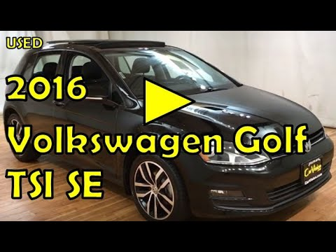 2016 Volkswagen Golf TSI SE MEDIA SCREEN MOONROOF REAR CAMERA #Carvision