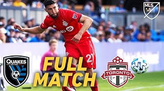 FULL MATCH REPLAY: San Jose Earthquakes vs Toronto FC | Outstanding Late Free Kick!