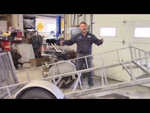 Custom Made Utility Trailer,  Part 1 ,  lastchanceautorestore com