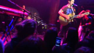 Andy Grammer - Lunatic - Live in San Francisco 1/15/2012