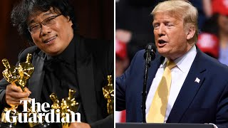 Trump mocks Oscar win for Parasite: 'What the hell was that about?'