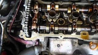 Регулювання клапанів на Nissan AlmeraN15