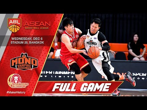Mono Vampire Basketball Club vs. Singapore Slingers | FULL GAME | 2017-2018 ASEAN Basketball League