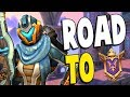 2 Hackers VS Road to GM Ranked Kinessa Gameplay