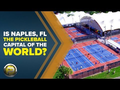 The Quest To Become The Pickleball Capital Of The World | Naples, Florida