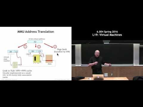 MIT 6.004 L19: Virtual Machines