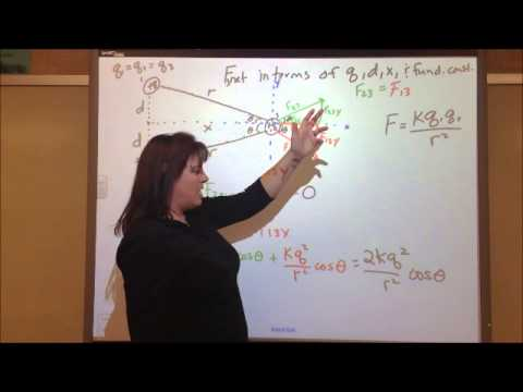 APAdv Electric Force Calculations