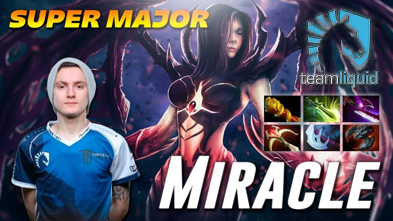 Miracle Shadow Fiend CHINA DOTA2 SUPER MAJOR YouTube