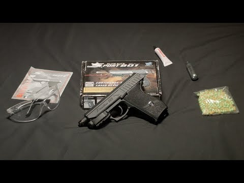 WG Panther 801 review airsoft pistol
