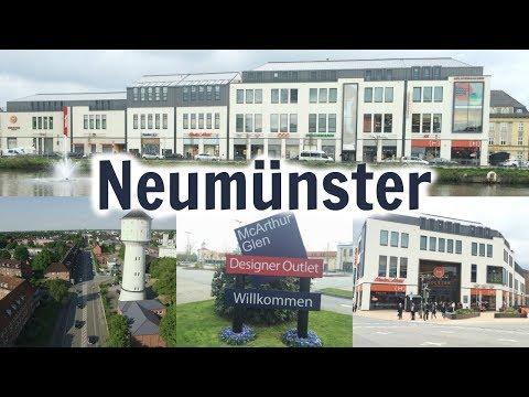 Fahrt durch Neumünster, Germany 2017