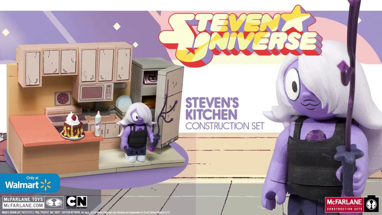Steven Universe Mcfarlane Construction Toys Stevens Kitchen Build