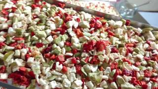 Chopped Bell Peppers & Onions Freeze Dried for long term food storage - Harvest Right Freeze Dryer