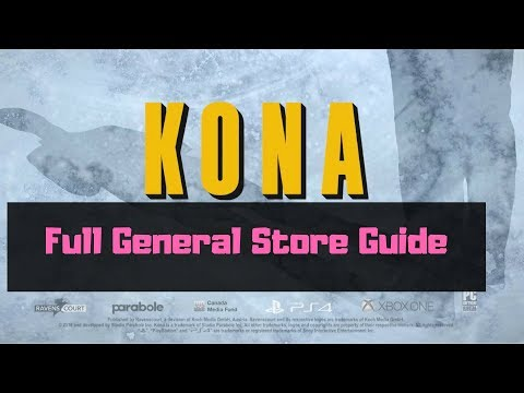 KONA - Full General Store Walkthrough