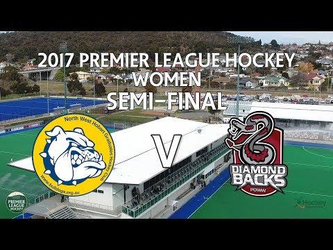 North West Grads v DiamondBacks   Women Semi-Final   Premier League Hockey 2017