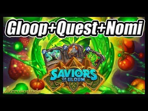 Nerfs Are Live! Nomi Quest Druid - Saviors Of Uldum Hearthstone