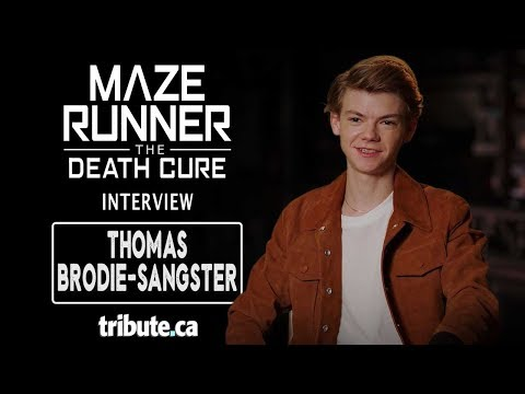 Thomas Brodie-Sangster - Maze Runner: The Death Cure Interview