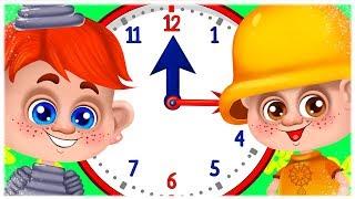 Таємничий Механічний Годинник - Дитячі Пісні й Мультики - З Любов'ю до Дітей