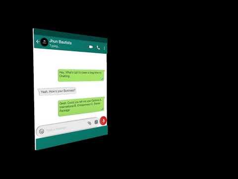 Glass Chat WhatsApp