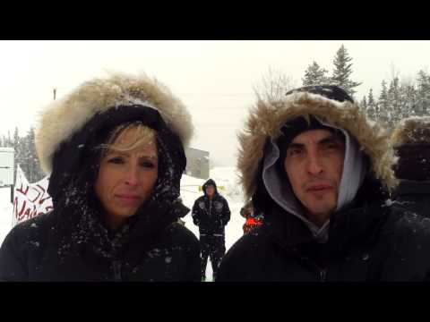 Mathias Colomb Cree Nation Peaceful Gathering J28 - Hudbay's Lalor Mine