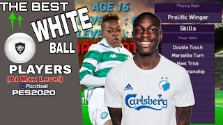 The Best White Ball Players | PES 2020