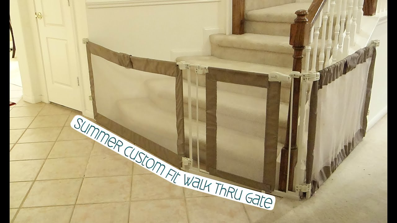 Summer Custom Fit Walk Thru Gate As Seen On Our Daily Vlogs Youtube