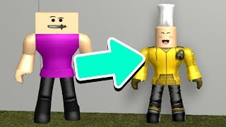 MORPHING INTO ROBLOX YOUTUBERS! *GROSS*