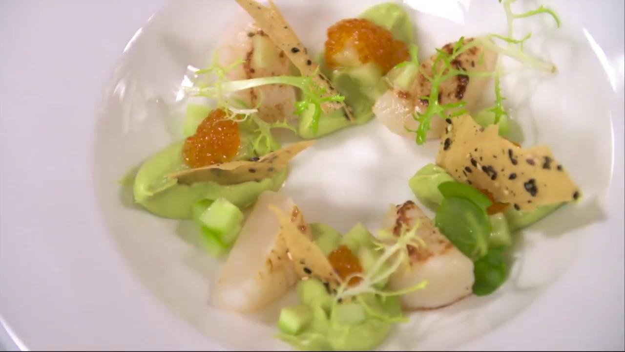Kökets Middag Nyårsförrätt Med Pilgrimsmusslor Köket Youtube