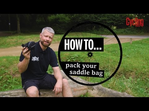 How to pack a saddle bag | Cycling Weekly