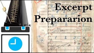 How to Audition: Learning excerpts