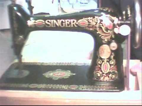 Singer Red Eye Sewing Machinehow I Did It YouTube Stunning Youtube Singer Sewing Machine Repair