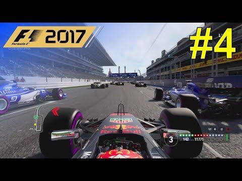 F1 2017 - Let's Make Verstappen World Champion #4 - 100% Race Russia
