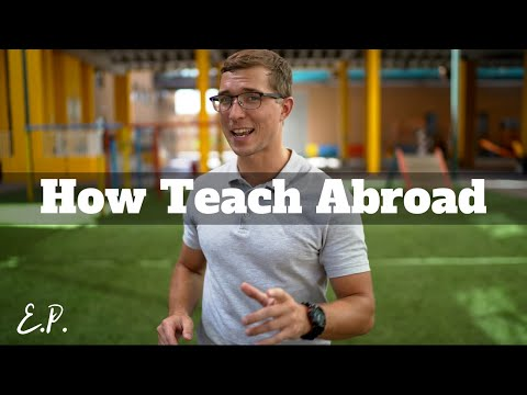 How To Start Teaching Career Abroad