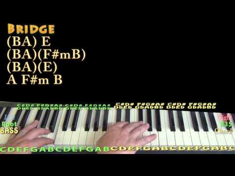 We Rode in Trucks (Luke Bryan) Piano Lesson Chord Chart