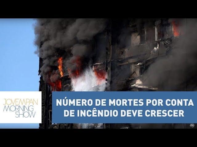 Ulisses diz que número de mortes por conta de incêndio deve crescer | Morning Show