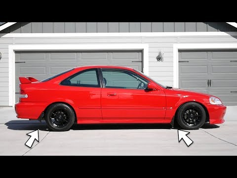 A Must Have for Every 90's Honda Civic | OEM Style Mud Guards