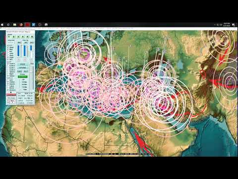 5/21/2018 -- Volcanic field in EUROPE swarming with Earthquakes -- West coast USA EQ watch - 동영상
