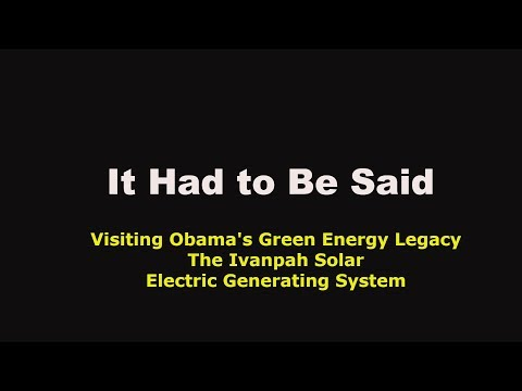 Visiting Obama's Failed Solar Energy Policy