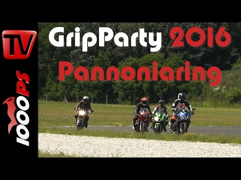 1000PS Gripparty Pannoniaring Juni 2016 Eventvideo | Impressionen, Teilnehmer, Action