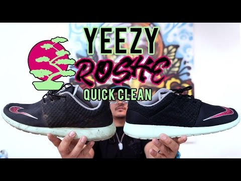 The best way to clean Nike Yeezy Roshes