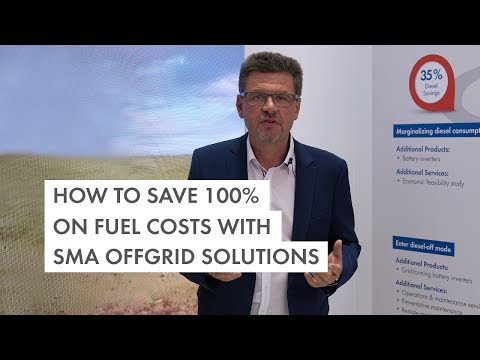 How to save 100% on fuel costs with SMA Off-Grid Solutions