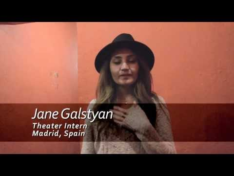 Internship in Spain - Theater Testimonial. Jane's Experience