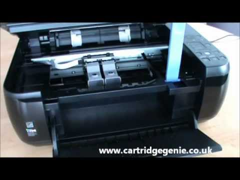 Canon Pixma MP280 - How to replace printer ink cartridges