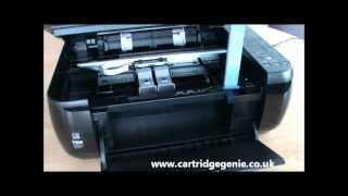Canon Pixma MP280 - How to replace printer ink cartridges(This video demonstrates how to change the ink on a Canon Pixma MP280 printer. http://www.cartridgegenie.co.uk., 2012-06-08T13:03:10.000Z)