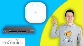 FIRST IMPRESSIONS | Engenius ECS1008P PoE Switch + Engenius ECW120 Access Point