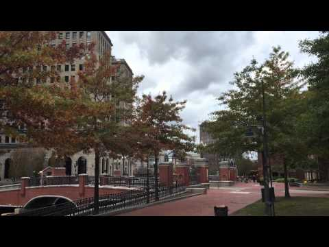 Walking tour of Providence State capital of Rhode Island