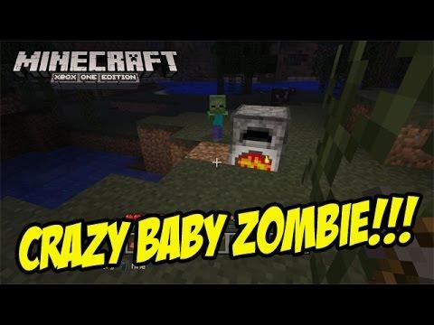 Crazy Baby Zombie!!! - Minecraft Xbox One Edition (Gameplay, Walkthrough)