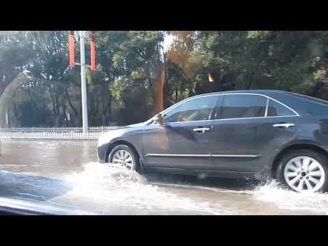 Inondations à Yingkou en Chine