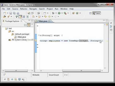 Java 26 - TreeMap