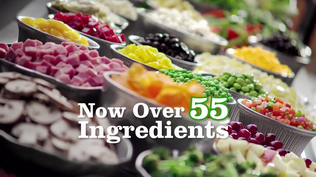 Ruby Tuesday S New Garden Bar Now Over 55 Ingredients